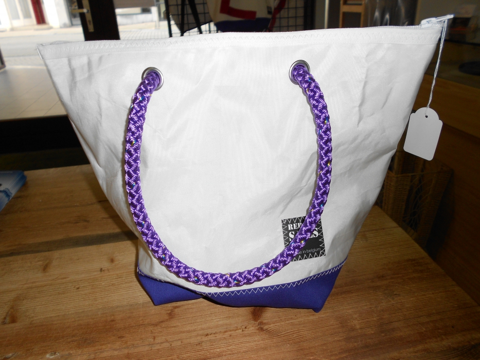 Shopping bag mauve 6