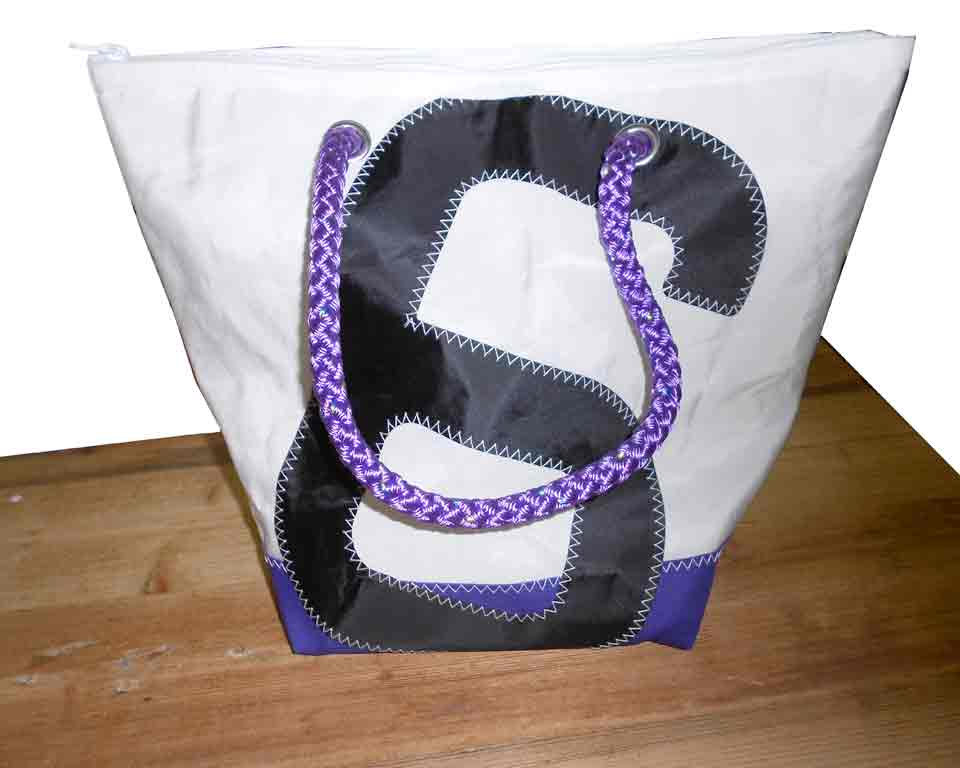 Shopping bag paars 6
