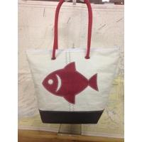 Shopping bag poisson rouge