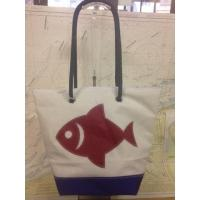 Shopping bag poisson rouge.