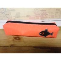 Trousse orange poisson (40)